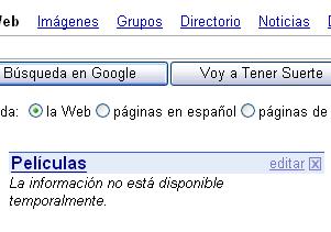 Google por Netvibes